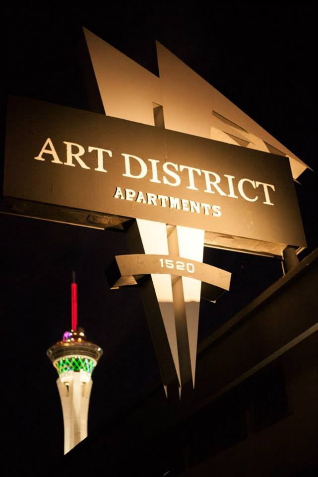 1520 S. Casino Center Blvd, 89104 – Art District Apartments